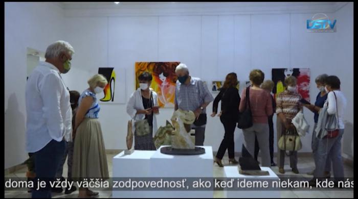 Embedded thumbnail for V galérii otvorili výstavu pod názvom Domáca pôda