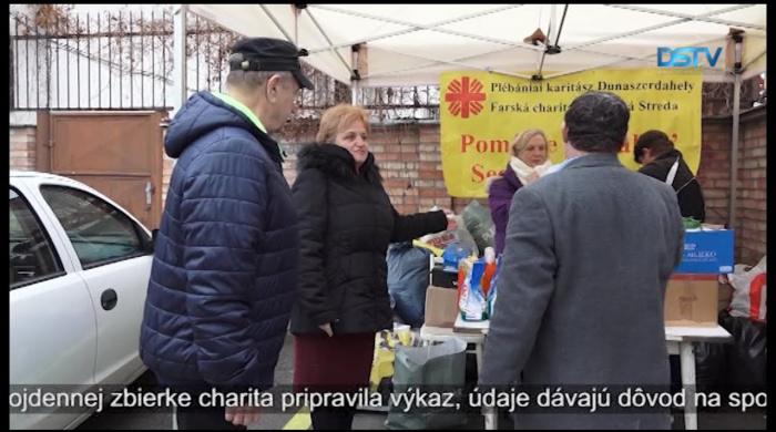 Embedded thumbnail for O jarnú charitatívnu akciu darcovia prejavili veľký záujem