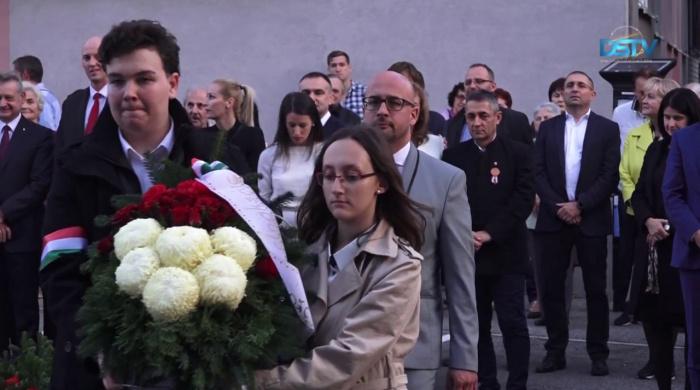Embedded thumbnail for Štyri udalosti na počesť roku 1956 v Dunajskej Strede