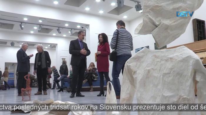 Embedded thumbnail for Výstava je ukážkou z tvorby predstaviteľov maďarského výtvarného umenia