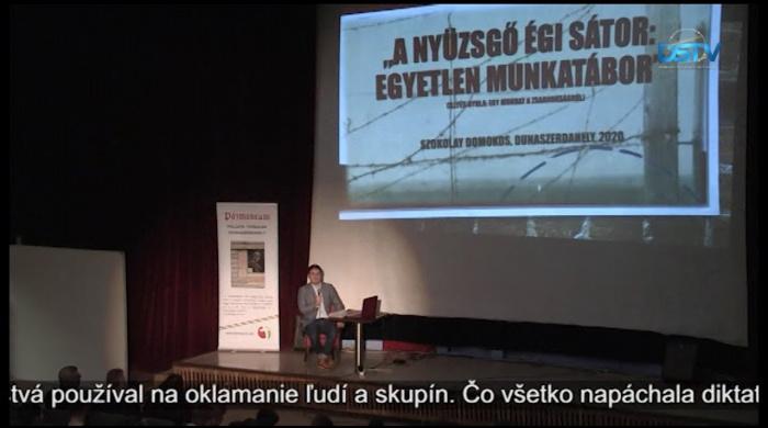 Embedded thumbnail for Odborníci prednášali študentom o brutálnych časoch komunistických diktatúr