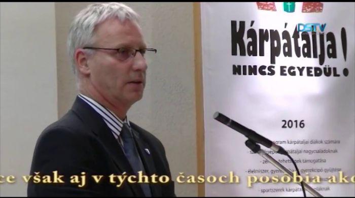 Embedded thumbnail for Konferencia o úlohe cirkví pri zachovaní maďarstva