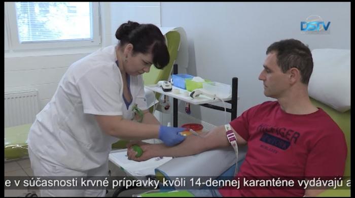 Embedded thumbnail for Významná zmena na transfúznej stanici dunajskostredskej nemocnice