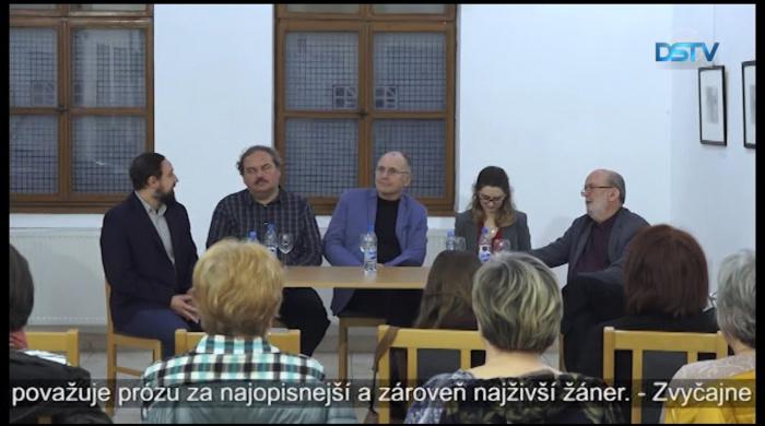 Embedded thumbnail for Deň maďarskej krásnej prózy v Dunajskej Strede