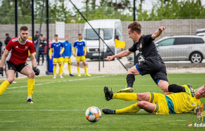 U19: FC DAC 1904 - MFK Zemplín Michalovce 1:1 (1:0)