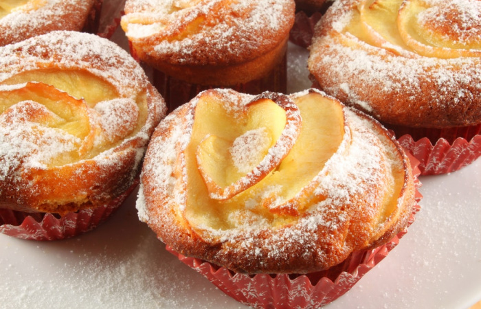 Jablkovo-škoricové muffiny