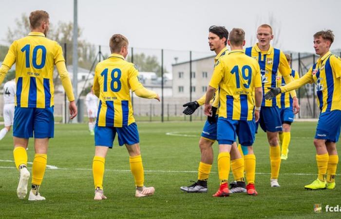 U19: 1. FC Tatran Prešov - FC DAC 1904 0:2 (0:1)