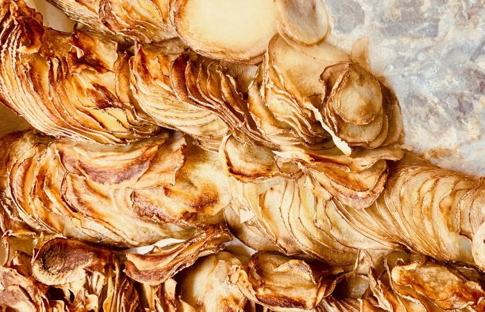 Chrumkavé zemiakové lupienky