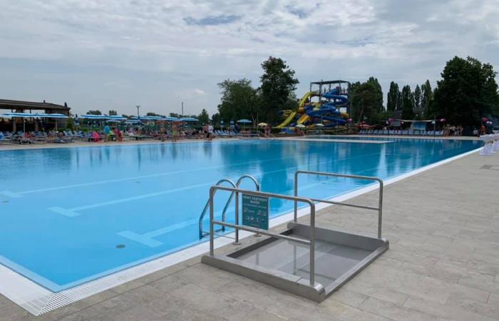 Odovzdanie veľkého bazéna