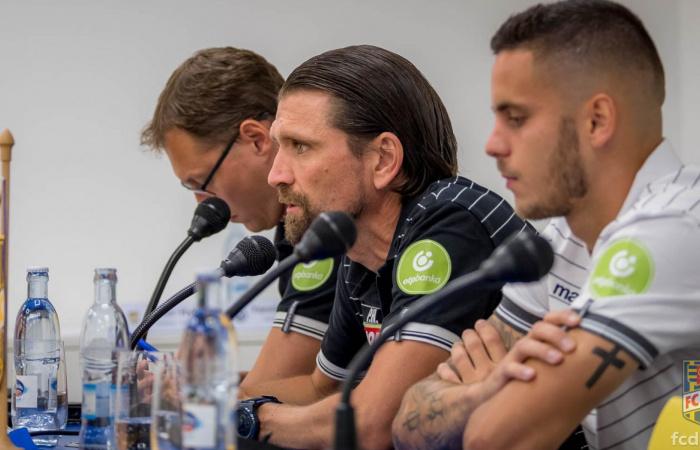 Video: Tlačová konferencia DAC-u pred stretnutím EL proti Atromitos FC