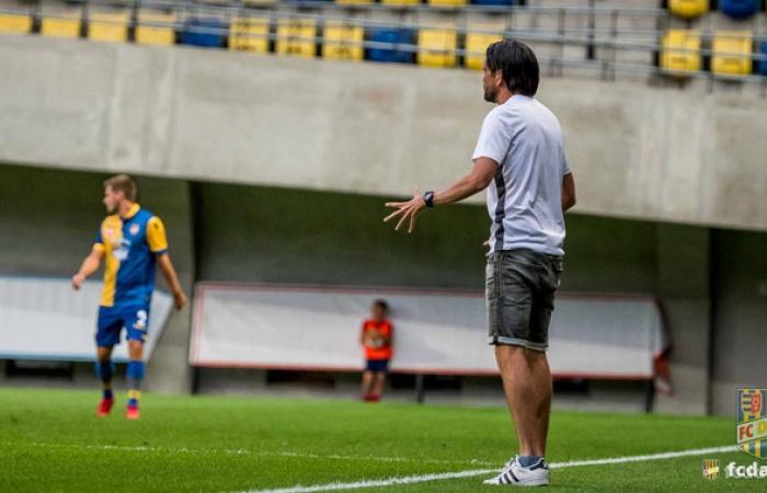 Peter Hyballa o prípravnom zápase proti Sepsi OSK a MOL Fehérvár FC