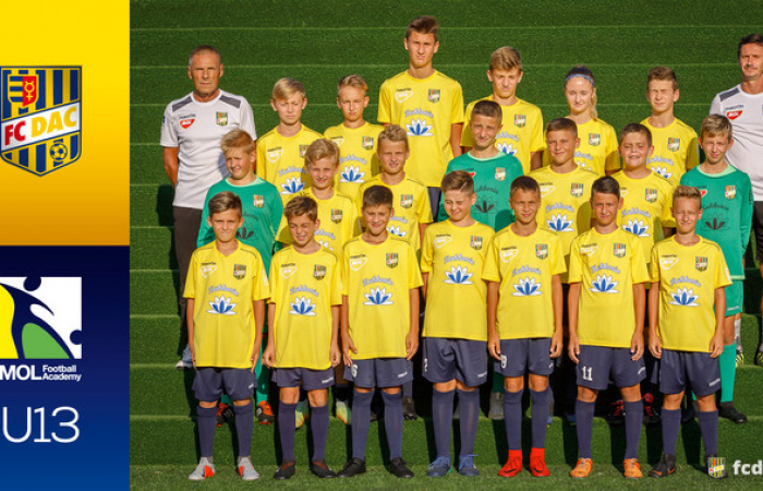 Sezóna 2018/19: DAC U13