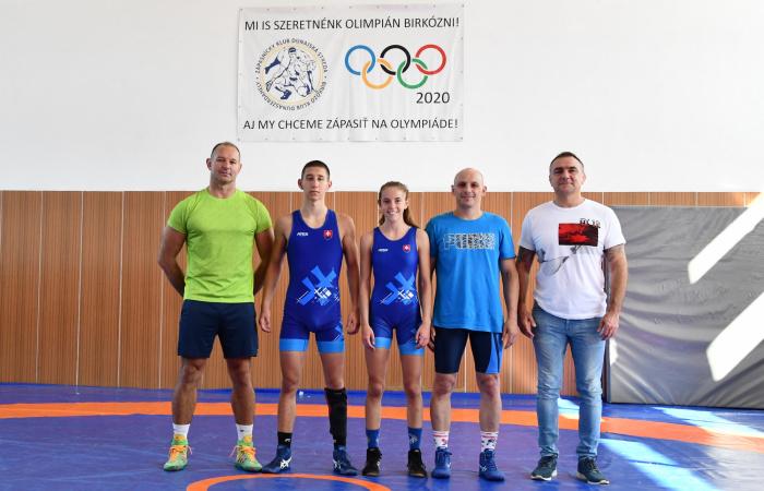 Naši zápasníci v Azerbajdžane