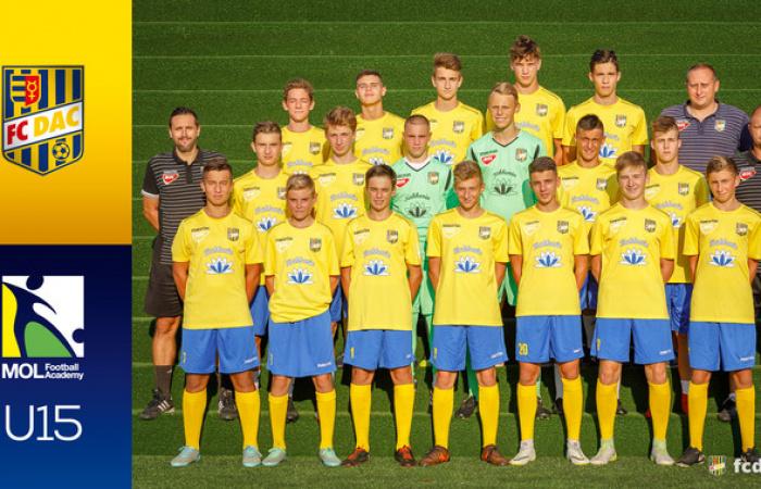 Sezóna 2018/19: DAC U15