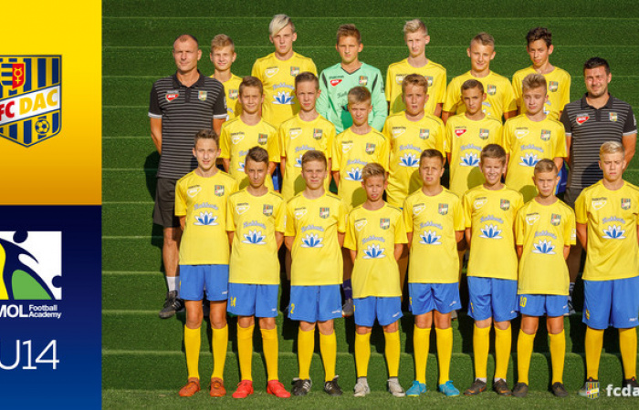 Sezóna 2018/19: DAC U14