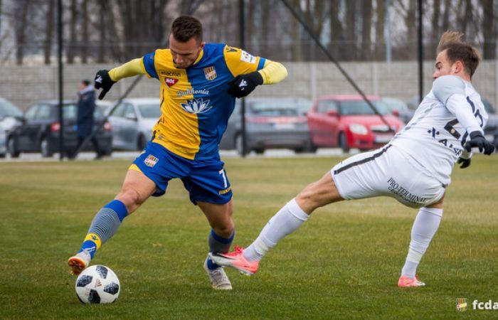 Zostrih momentov prípravného zápasu FC DAC 1904 - Soroksár SC (1:0)