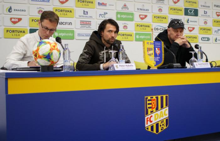 Tlačová konferencia po zápase FC DAC 1904 - FC DAC 1904 - ŠKF Sereď (3:4)