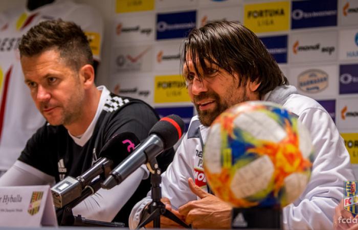 Tlačová konferencia po zápase MFK Ružomberok - FC DAC 1904 (1:0)