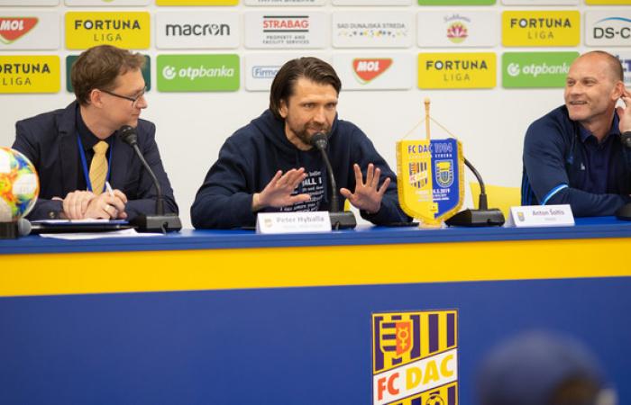 Tlačová konferencia po zápase FC DAC 1904 - MFK Zemplín Michalovce (5:0)