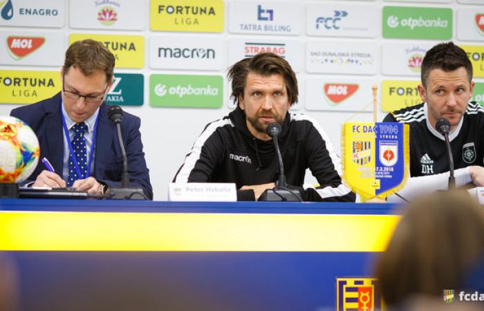 Tlačová konferencia po zápase FC DAC 1904 - MFK Ružomberok (1:1)