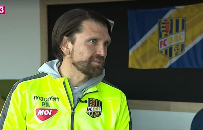 Video: Nemecký tréner P. Hyballa o futbalovom klube Dunajskej Stredy