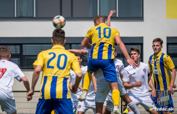 U19: FC DAC 1904 - FC Spartak Trnava 3:1 (1:0)