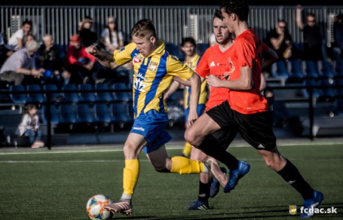 U19: FC DAC 1904 - MFK Ružomberok 2:0 (1:0)