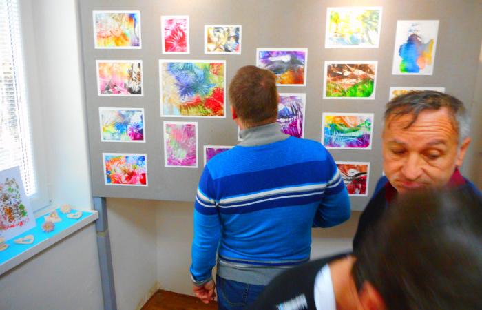 V Gallery Nova  - radosť , láska a vďačnosť - S dobrou nádejou