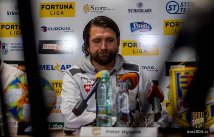 Tlačová konferencia po zápase Michalovce - DAC (5:0)