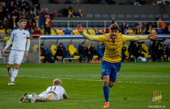 Video: Zostrih momentov zápasu FC DAC 1904 - FC Nitra (1:0)