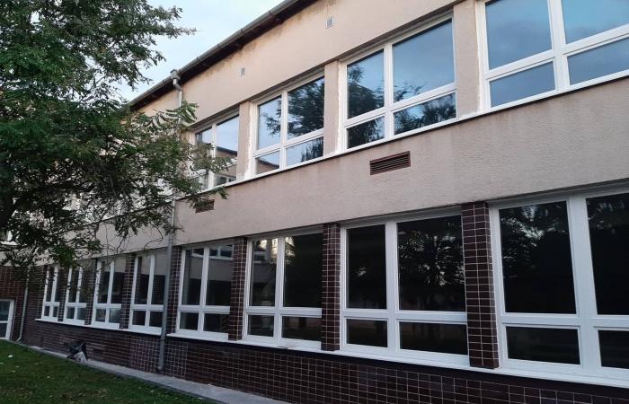 Výmena okien v strednej odbornej škole