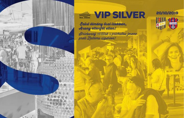 VIP Silver menu na zápase DAC-Zlaté Moravce