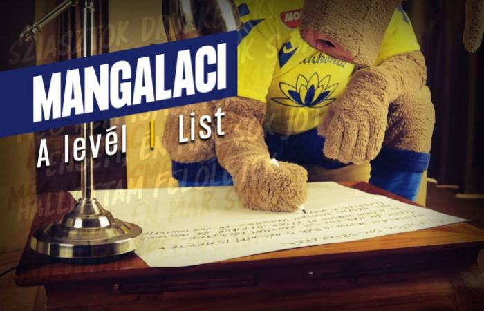 Video: Mangalaci píše list