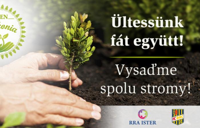 Vysaďme spolu stromy!
