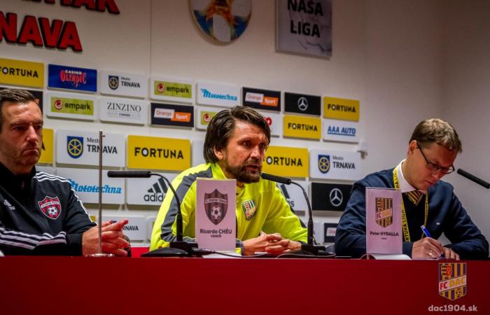 Video: Tlačová konferencia po zápase Trnava - DAC (1:2)