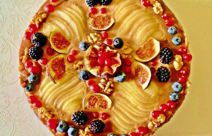 Sladká syrová torta - cheesecake