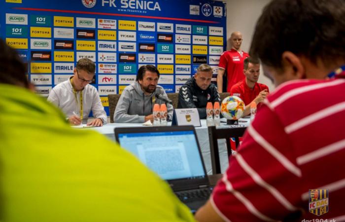 Tlačová konferencia po zápase Senica - DAC (0:1)