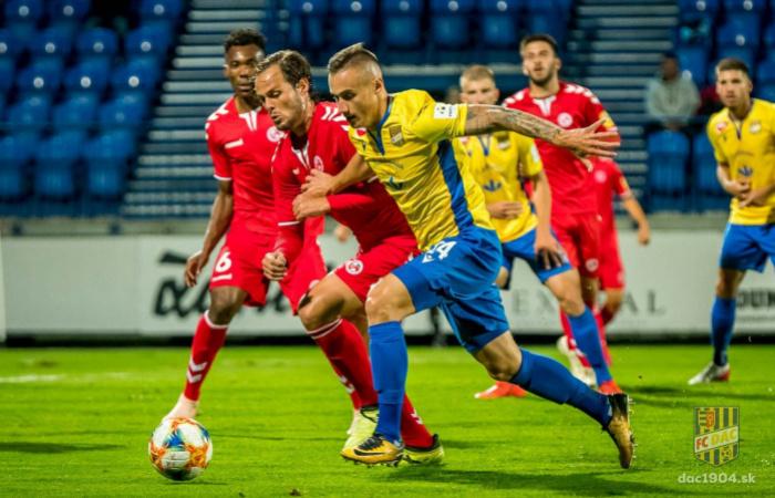 Video: Zostrih momentov zápasu FK Senica - FC DAC 1904 (0:1)