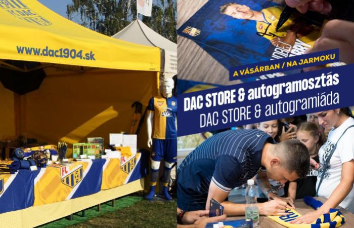 Autogramiáda a DAC store na Žitnoostrovskom jarmoku!