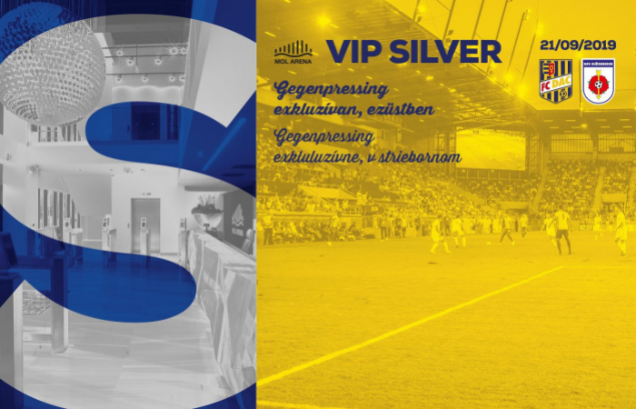 VIP Silver menu na zápase DAC-Ružomberok