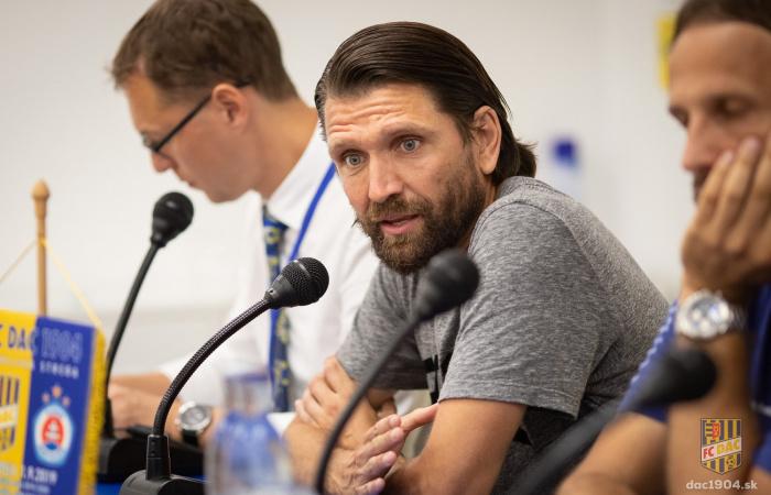 Video: Tlačová konferencia po zápase DAC - Slovan (5:2)