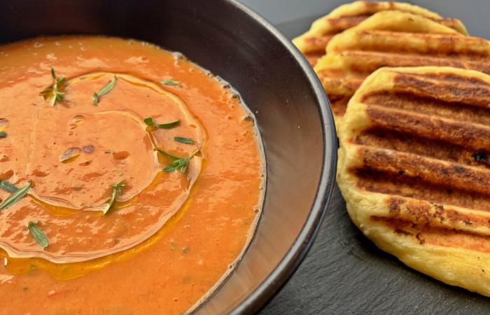 Gazpacho so zemiakovým posúchom