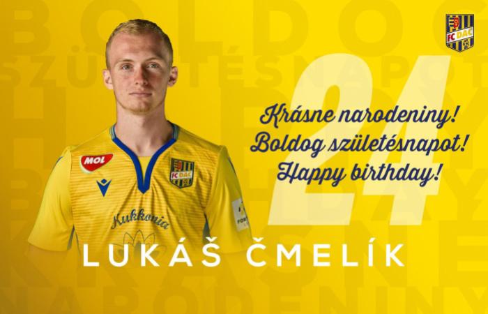 Narodeniny: Lukáš Čmelík má dnes 24!