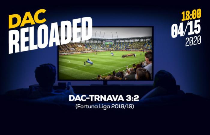 Link na sledovanie zápasu DAC-Trnava (3:2) z jesene 2018