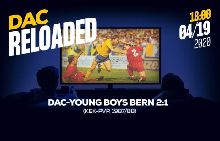 Link na sledovanie zápasu DAC- Young Boys Bern (2:1)