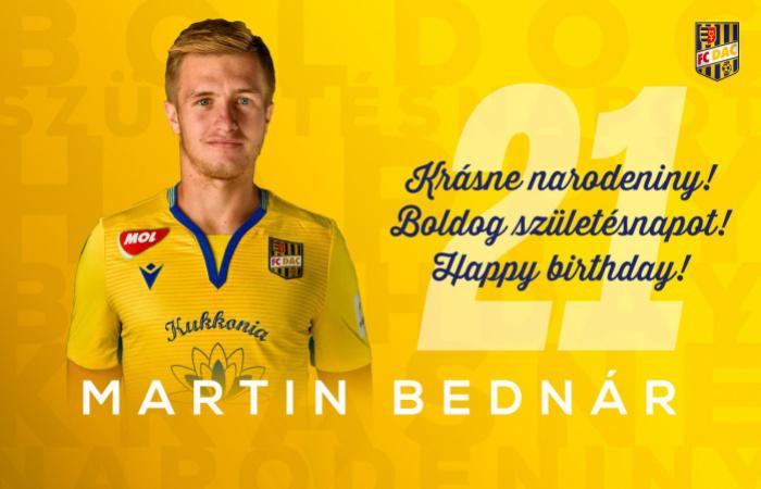 Narodeniny: Martin Bednár má dnes 21!