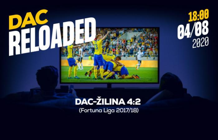 Link na sledovanie zápasu DAC-Žilina (4:2) z jesene 2017