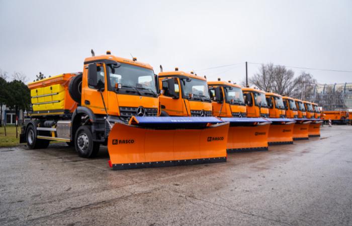 Nové sypače sú pripravené na zapojenie sa do zimnej údržby ciest