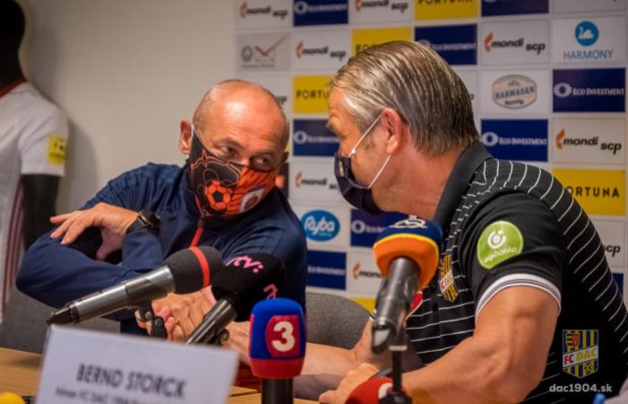 Tlačová konferencia po zápase Ružomberok-DAC (0:1)