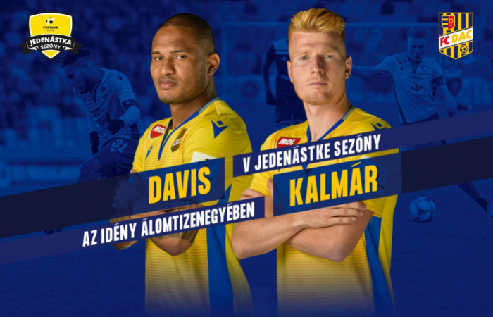 Davis a Kalmár v najlepšej Jedenástke Fortuna ligy!